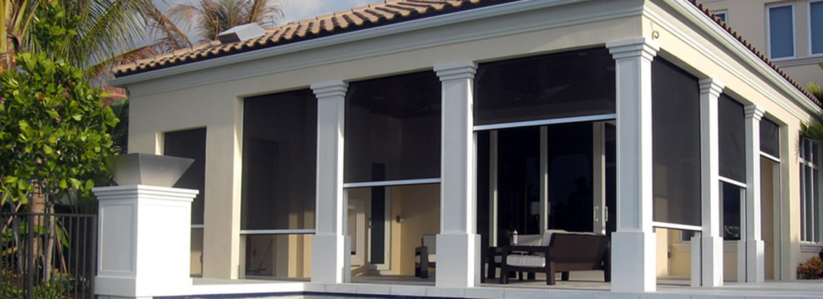 Check Out Our Retractable Screens: Genius Screens · Universal Screens.  Consider Retractable Screens ...